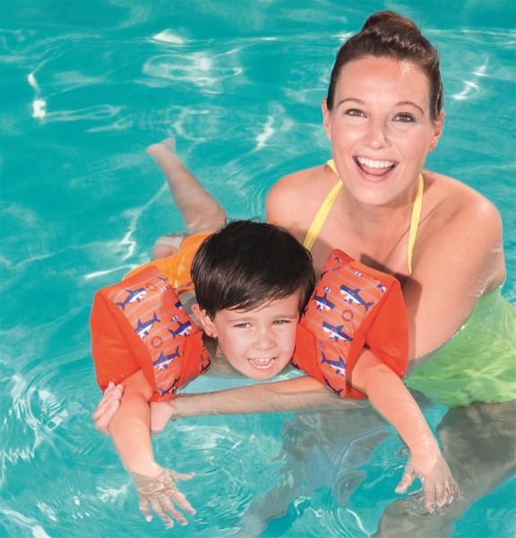 Swim Safe™ Schwimmflügel mit Textilbezug für Kinder 1-3 Jahre (M/L)
