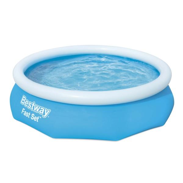 Fast Set™ Pool, 305 x 76 cm, ohne Pumpe, rund, blau