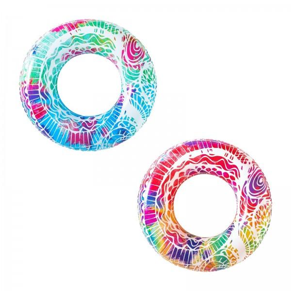 Bestway® Schwimmring, Mandala, 91 cm, sortiert