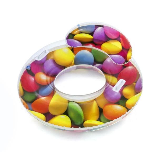 Bestway® Schwimmring, Candy Delight, 118 x 117 cm, mit Rückenlehne