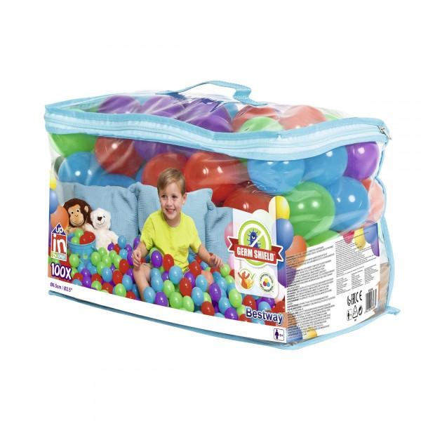 Up, In & Over™ Antimikrobielle Spielbälle, 100 Stück