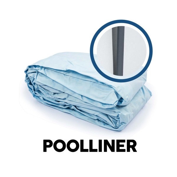 Bestway® Ersatzteil Poolfolie für Steel Pro MAX™ Pool 427 x 84 cm, lichtgrau, rund