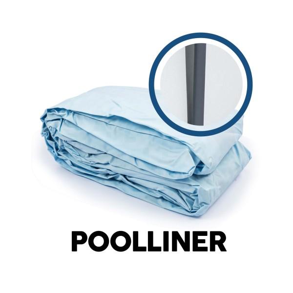 Bestway® Ersatzteil Poolfolie für Steel Pro MAX™ Pool 427 x 107 cm, lichtgrau, rund