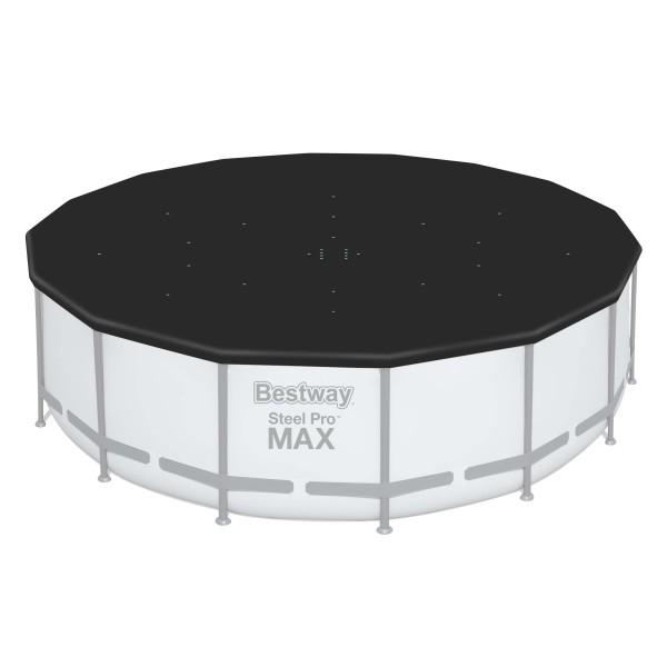 Flowclear™ PVC-Abdeckplane, Ø 493 cm, für runde 488 cm Stahlrahmenpools und 460 cm Hydrium™ Pools, s