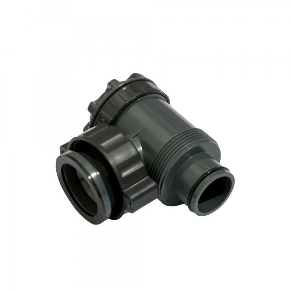 Bestway® Ersatzteil P6(H2)510 Regelventil / Eckventil (dunkelgrau) für Steel Pro MAX™ 549 x 122 cm