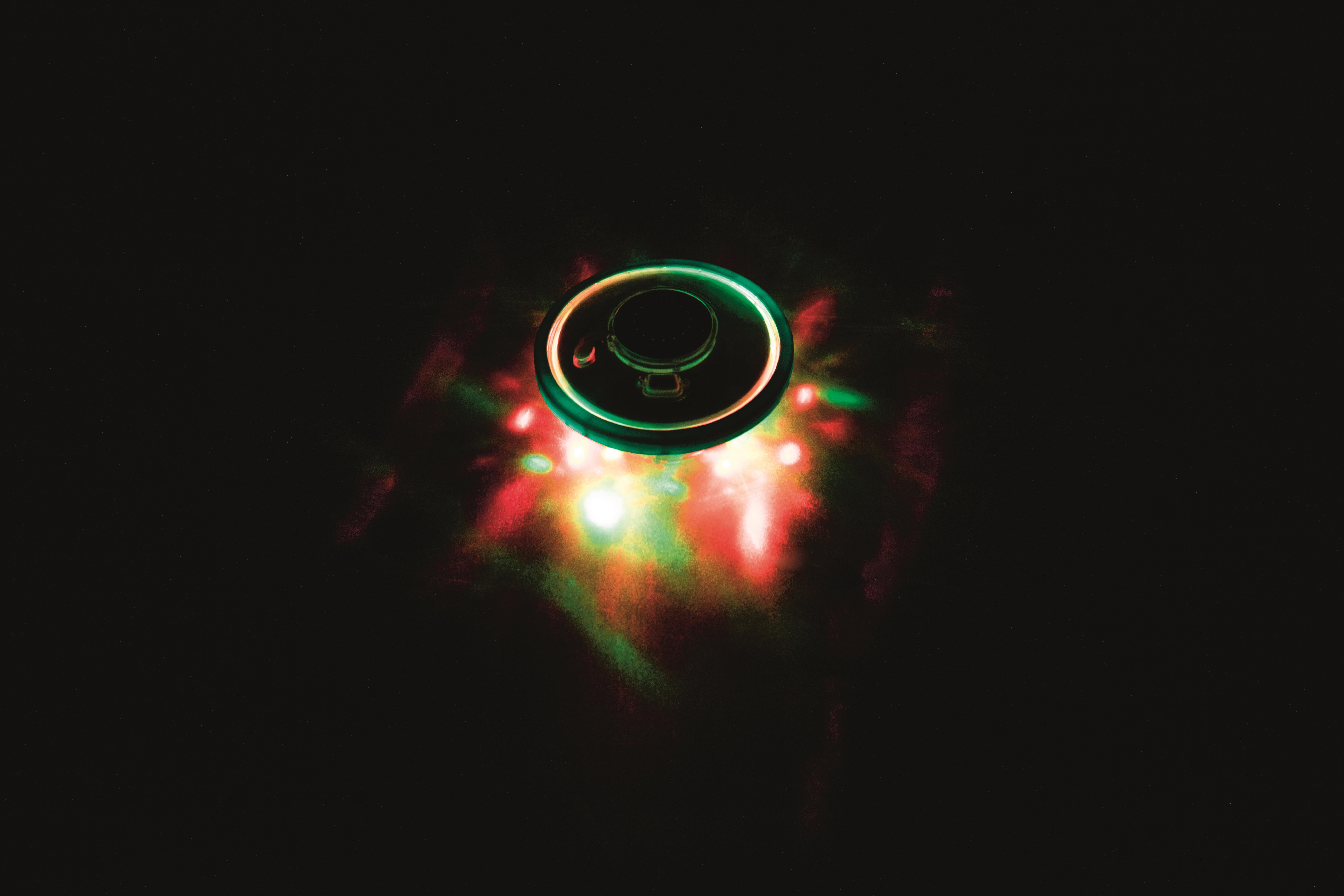 Schwimmende LED-beleuchtete Wasserfontäne 18,5 cm