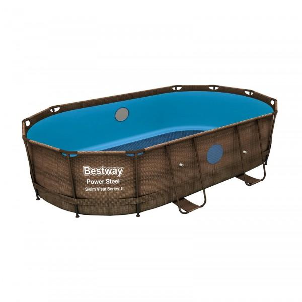 Bestway® Ersatzteil P04111 Poolfolie/Liner für Power Steel™ Swim Vista Series Pool 488x305x107cm, ov