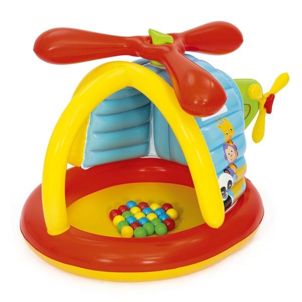 Fisher-Price® Spielcenter/Bällebad, Hubschrauber, 155 x 102 x 91 cm